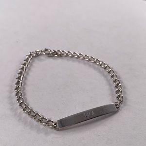 """""""Lila"""" ID bracelet"""